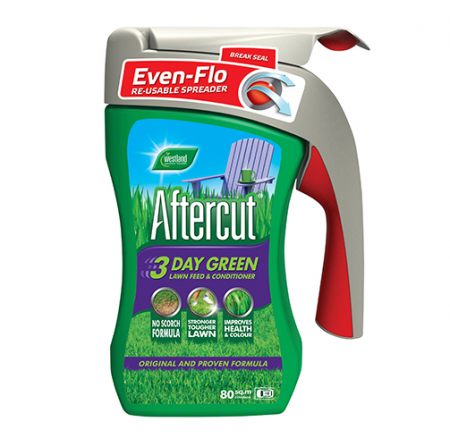 Aftercut 3 Day Green Even Flo Spreader Front