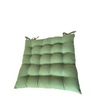 Green Square Seat Cushion