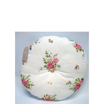 Round Floral Seat Cushion