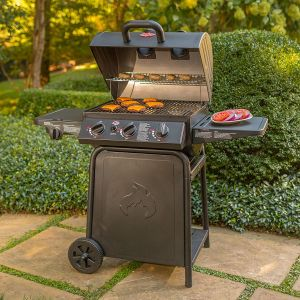 Pro Grillin Gas BBQ with Side Burner - image 3