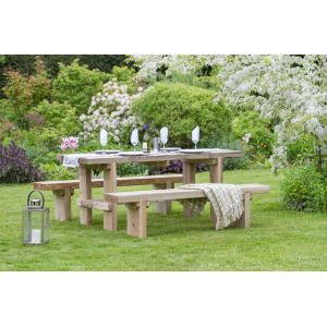 Rebecca Table and Bench Set